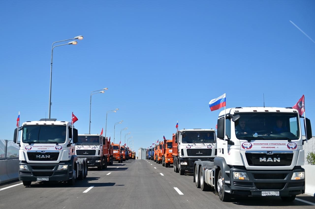 До конца года в Москве должны завершить строительство 36 км дорог