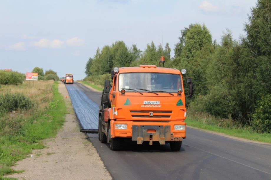 Более 130 км дорог отремонтируют в Смоленской области в 2020 году