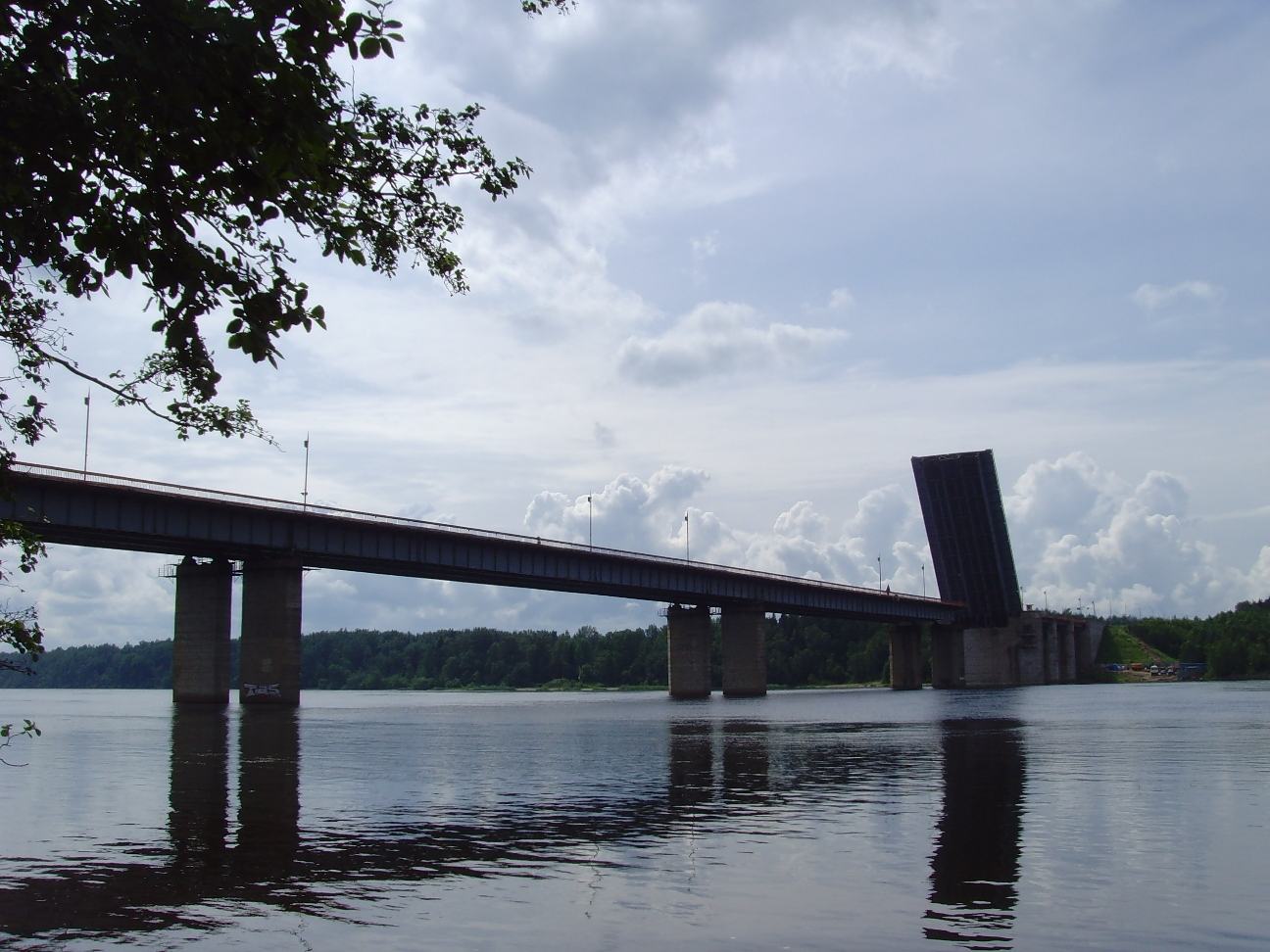 Ладожский мост на трассе Р-21 «Кола» разведут 10 июня