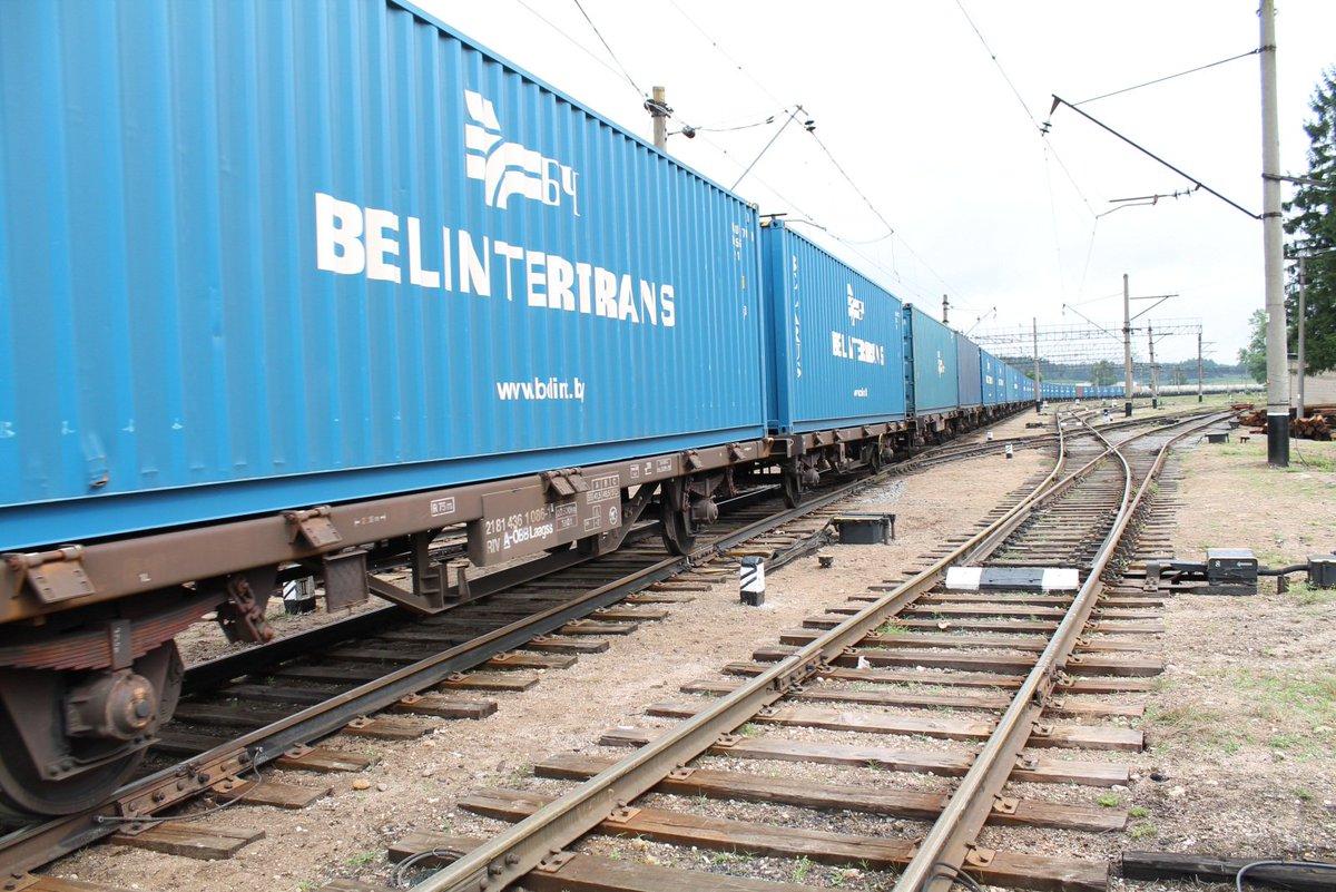 Из Беларуси в Китай пустили первый контейнерный поезд с пиломатериалами