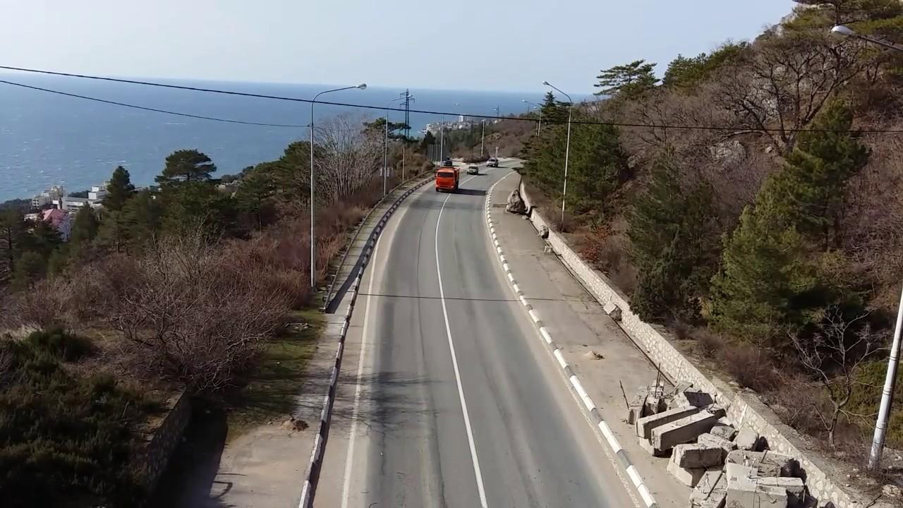 В Крыму в 2020 году начнут ремонт Южнобережного шоссе