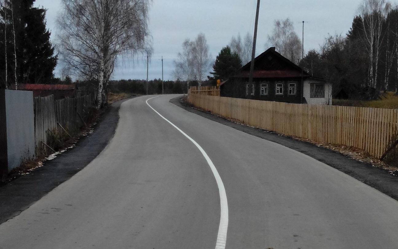 В Нижегородской области отремонтировали дорогу из Бора в Ватомский