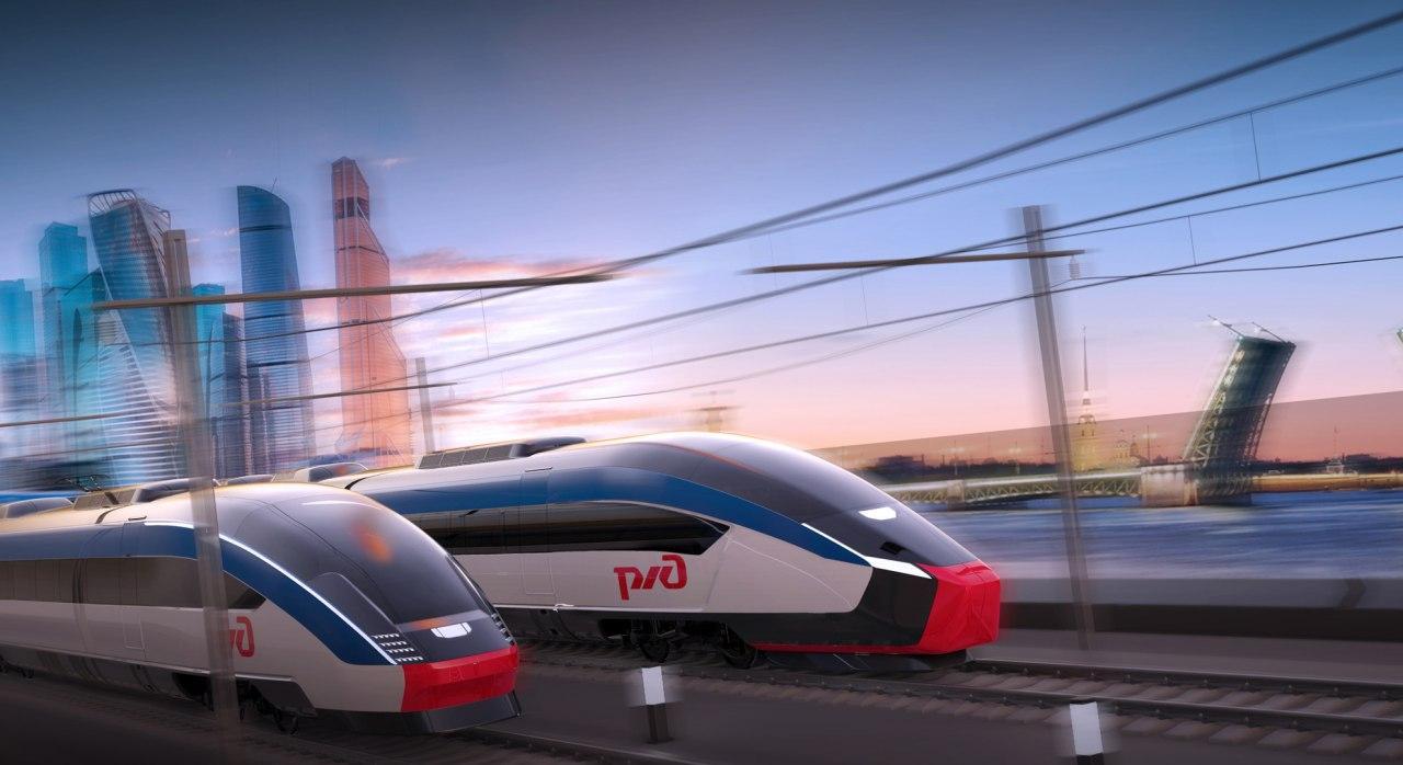 Строительство ВСМ «Москва – Санкт-Петербург» начнут в 2022 году