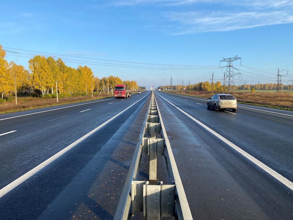 В нормативное состояние привели более 30 км «Чуйского тракта»