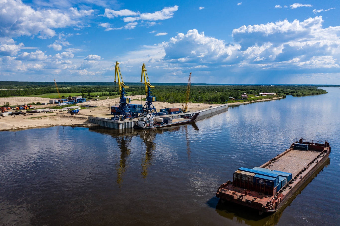 В Якутии в 2023 году построят терминал мощностью 2 млн. тонн грузов