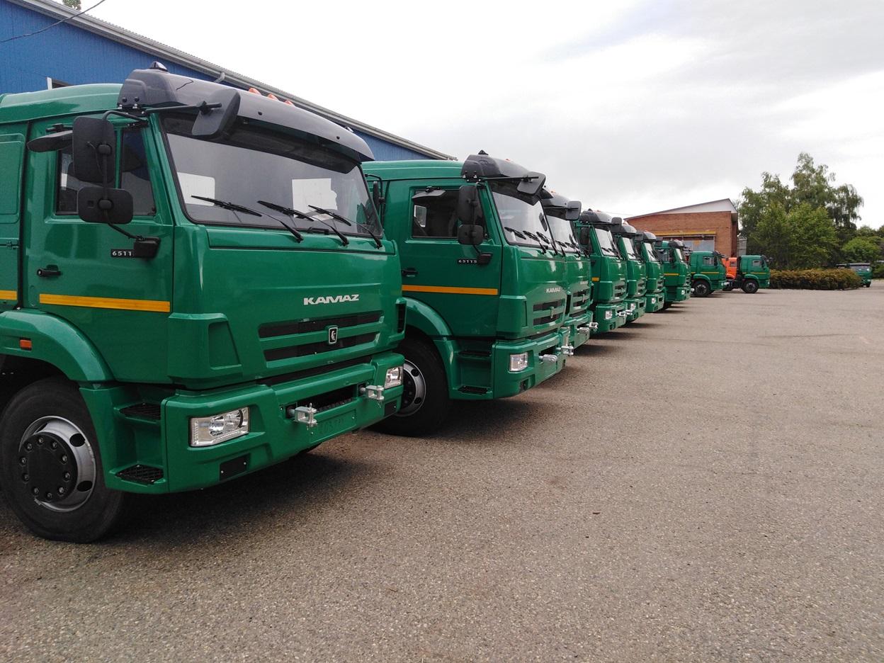 По итогам октября продажи грузовиков снова ушли в минус