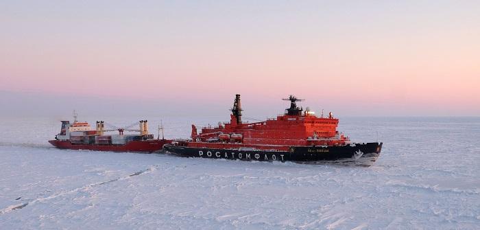 «Росатом» предложил строить ледоколы «Лидер» для Северного морского пути по концессии