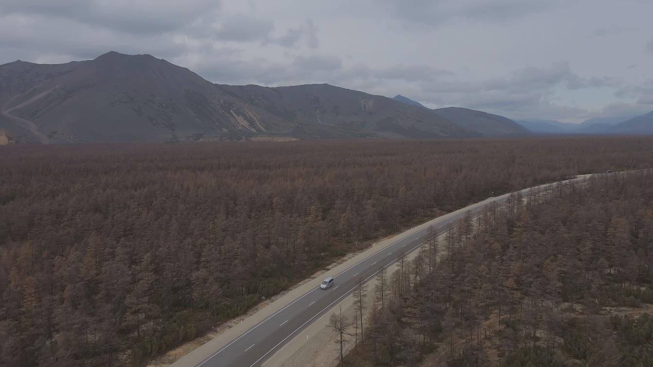 В Магаданской области заасфальтировали еще 7 км трассы Р-504 «Колыма»