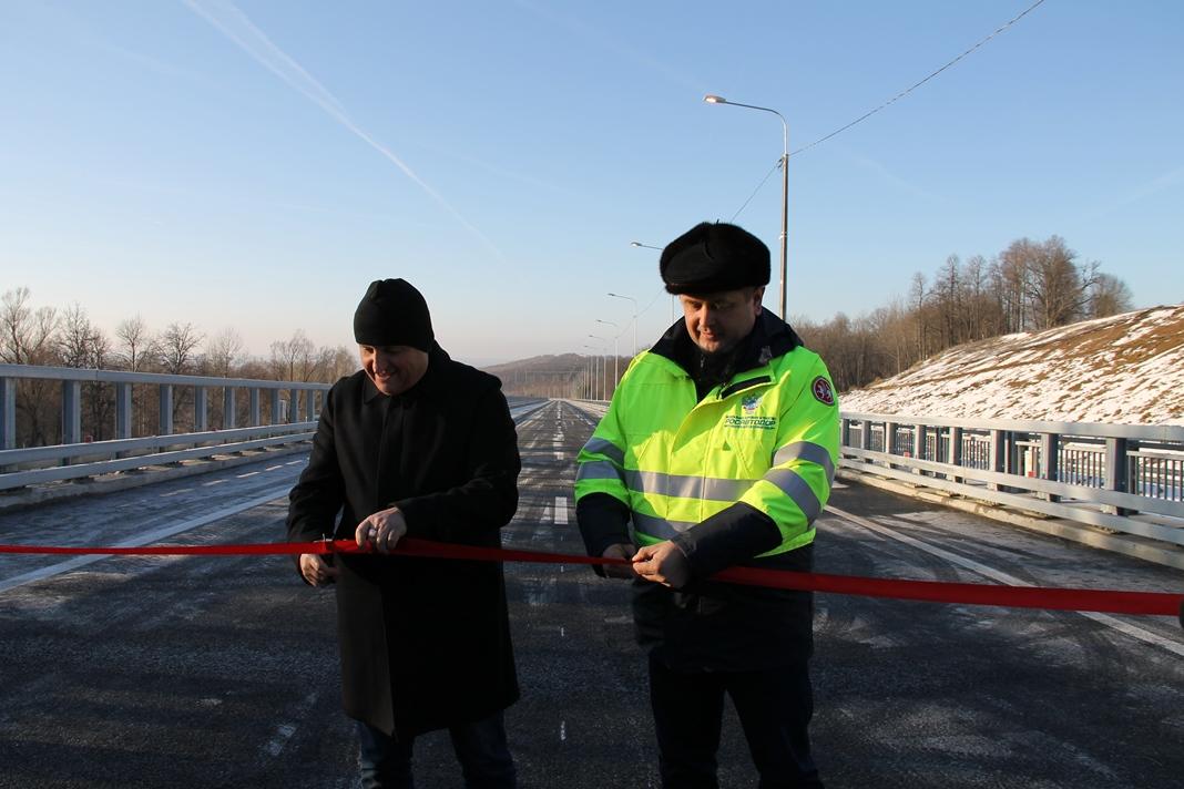 В Чувашии открыли движение по эстакаде Сурского моста