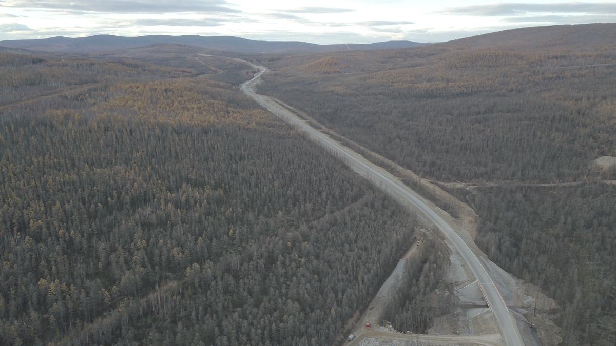 Трассу «Лена» в Якутии обещают полностью заасфальтировать к 2024 году