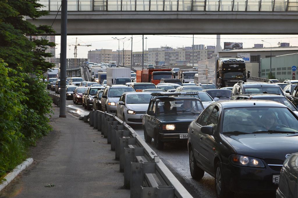 В России к 2022 году должен появиться информационный сервис о дорожных пробках