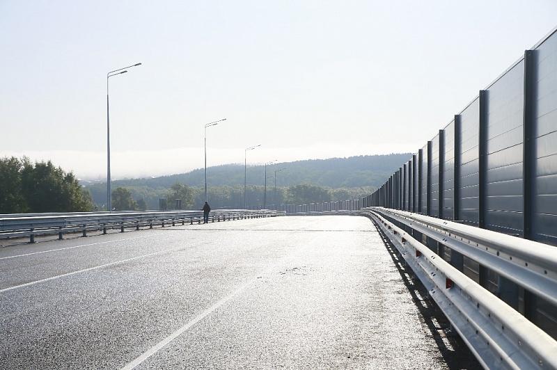 В Уфе запустили движение по новой транспортной развязке