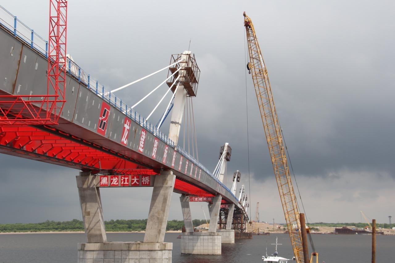 Мост через Амур получит разрешение на ввод в эксплуатацию в мае