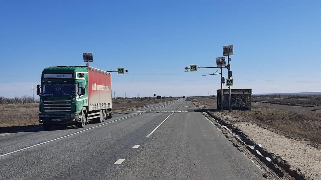 В Калмыкии до четырех полос расширят участок дороги на подъезде к Элисте