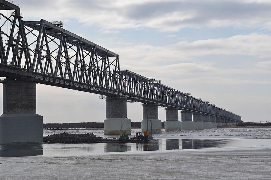 Мост между ЕАО и КНР могут не успеть достроить в I квартале 2021 года