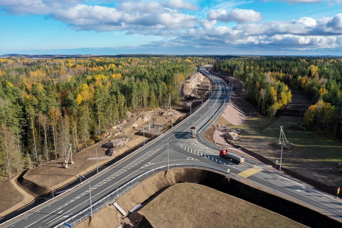 В 4 регионах Северо-Запада отремонтировали 300 км федеральных трасс