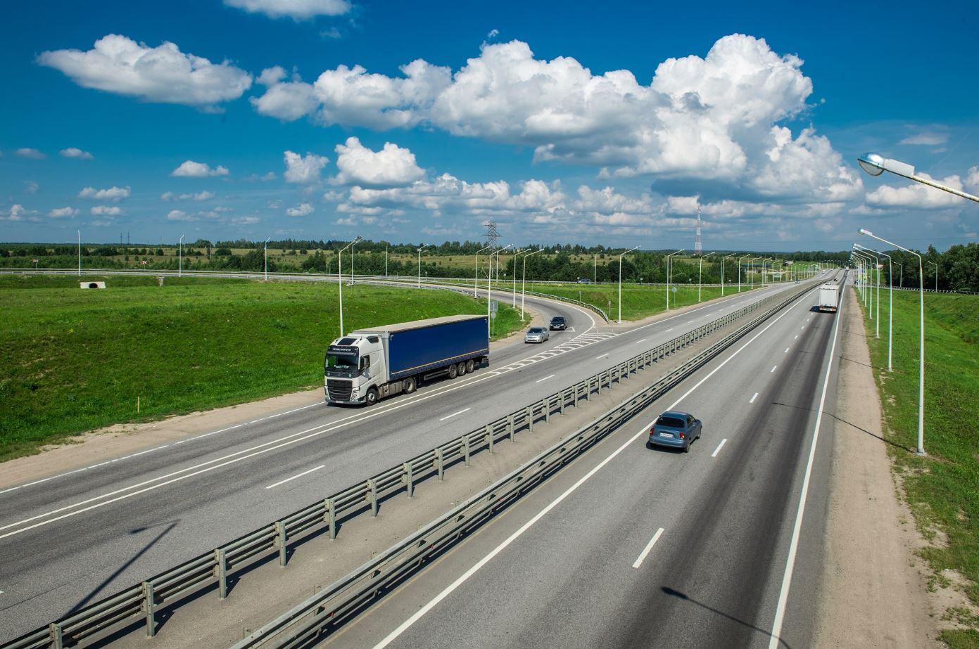 Четверть трассы М-1 «Беларусь» отремонтировали в 2019 году