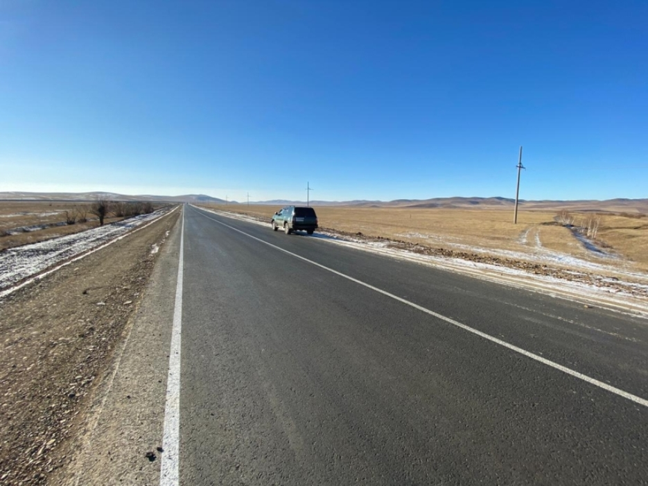 В Забайкальском крае отремонтировали дорогу, соединяющую пять районов