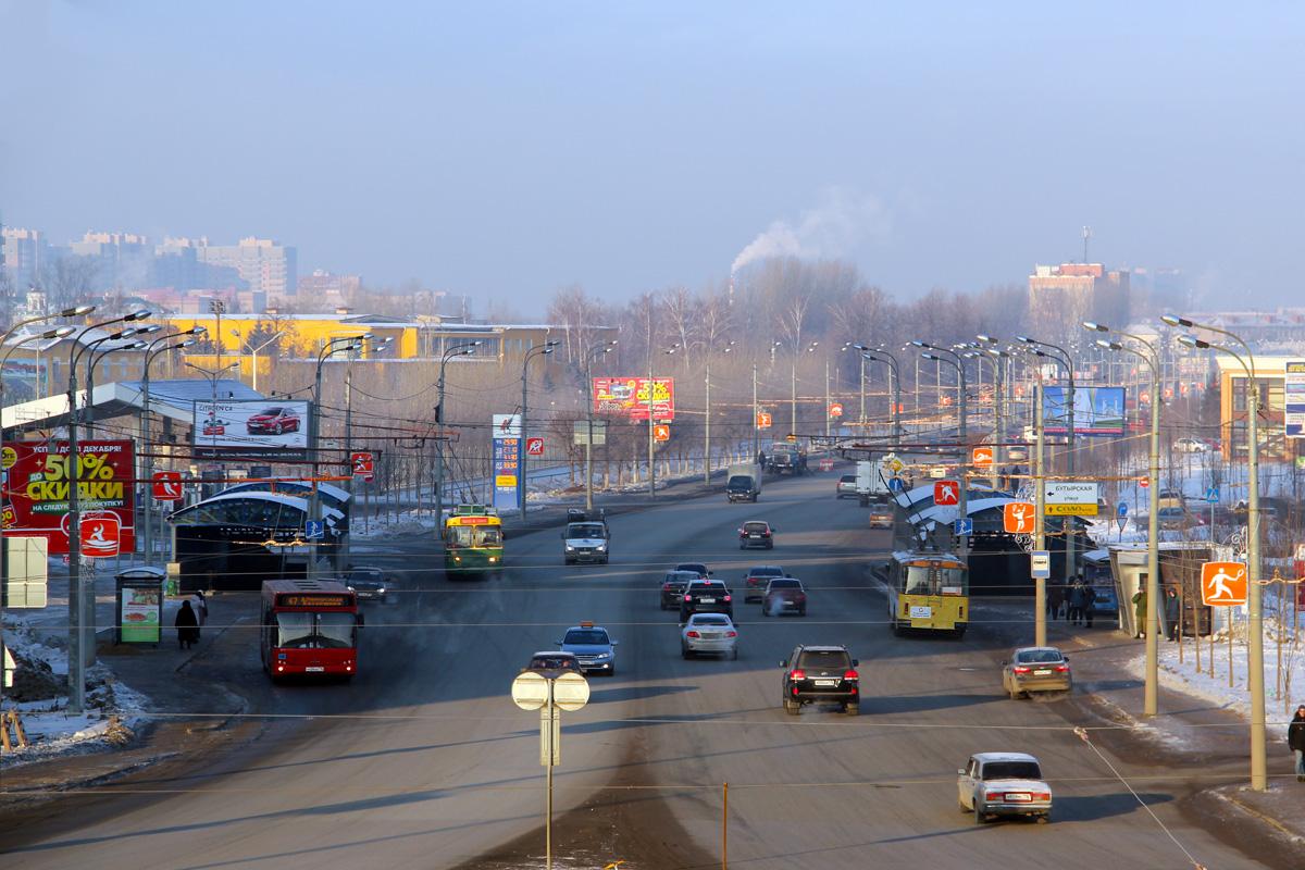 В Казани увеличили число улиц, по которым запрещен проезд большегрузов
