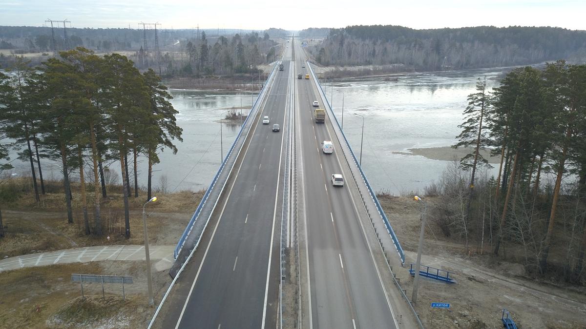 В Иркутской области отремонтировали более 280 км федеральных трасс