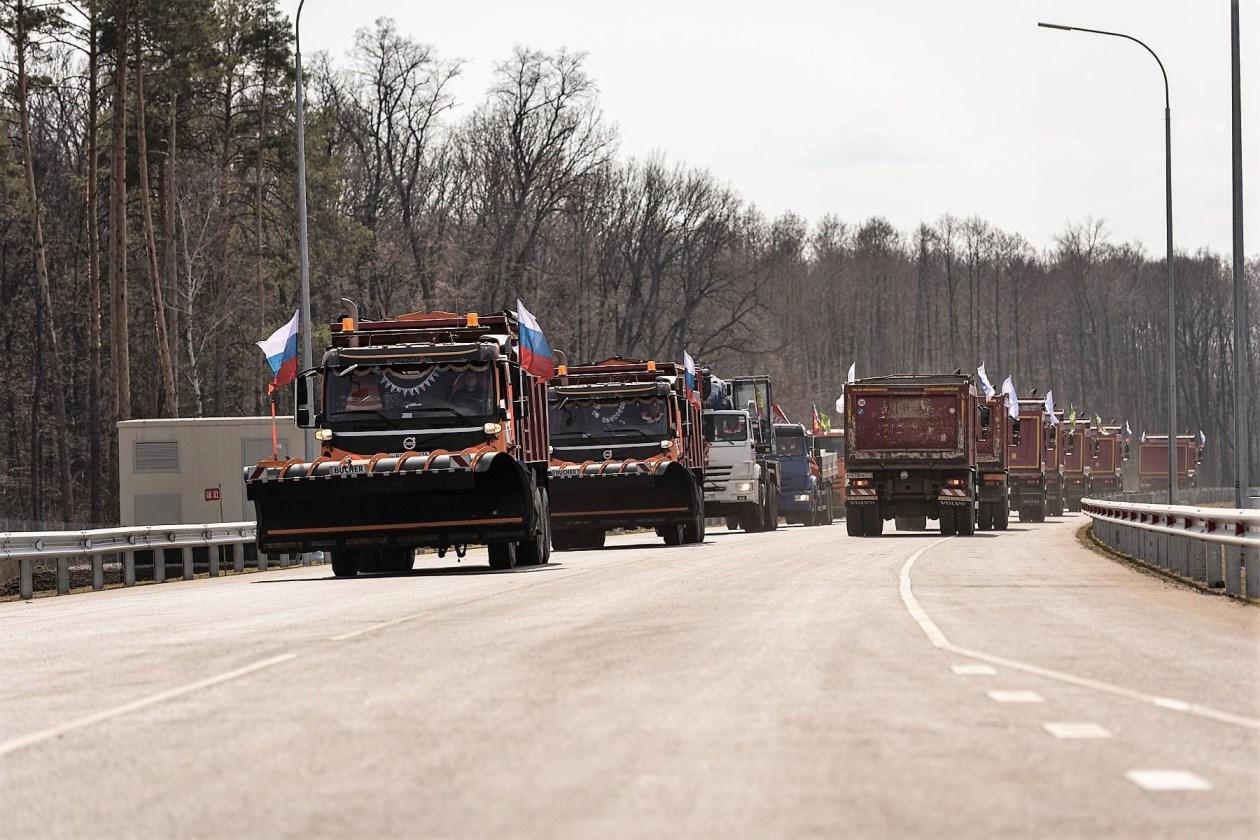 В Воронежской области досрочно открыли юго-восточный обход Боброва