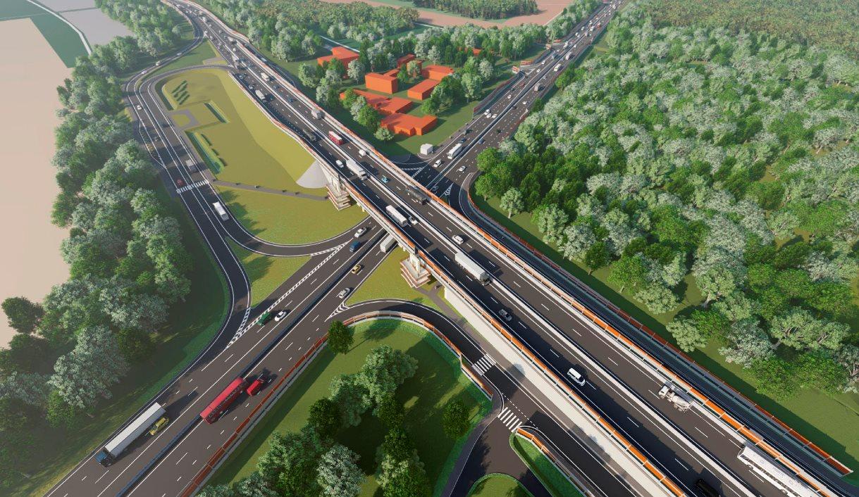 На пересечении ЦКАД с Волоколамским шоссе построят транспортную развязку