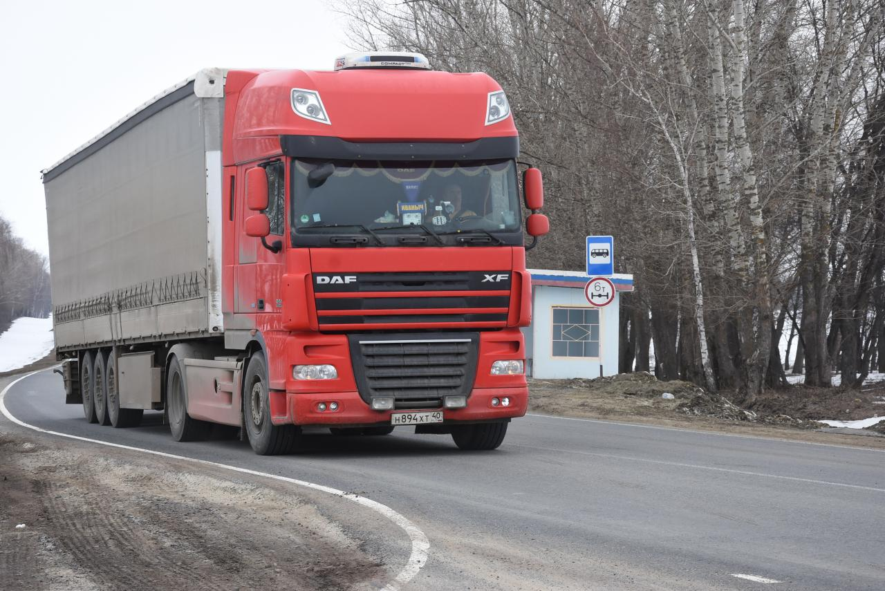 Весенние ограничения для грузовиков 2021 по все российским регионам