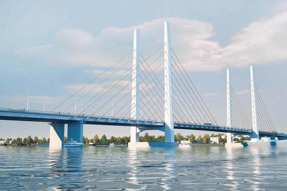 Проект моста через реку Шексна в Череповце