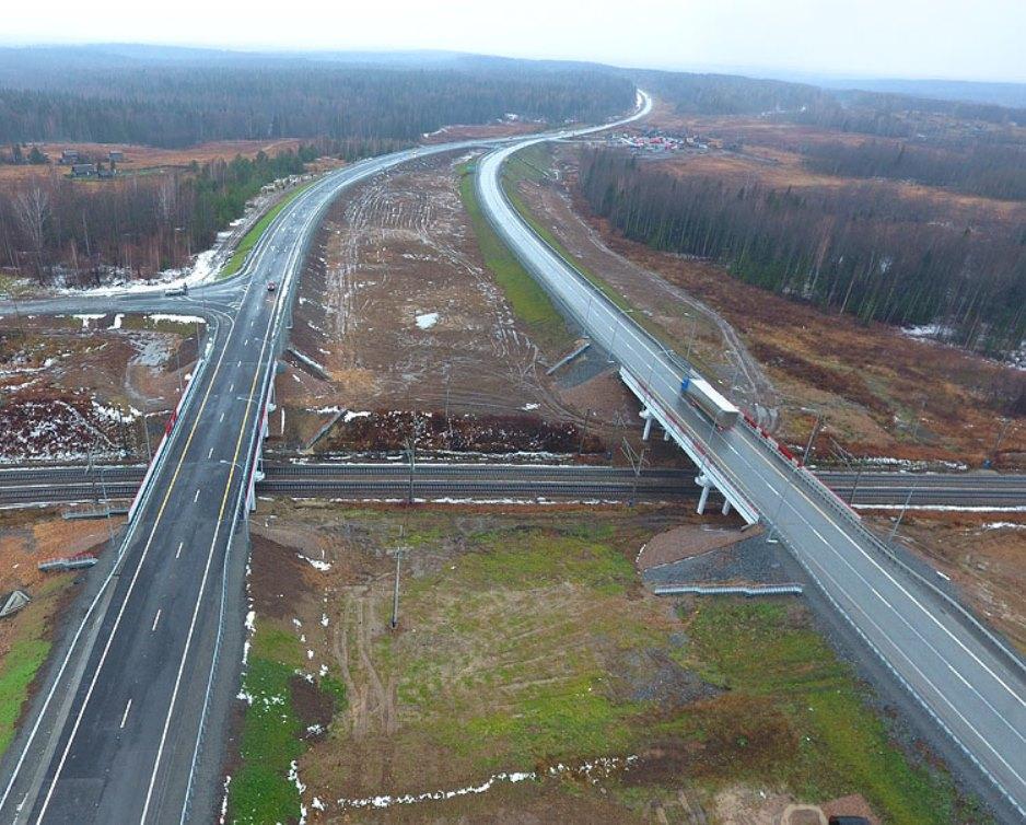 В Красноярском крае реконструировали путепровод через Транссиб
