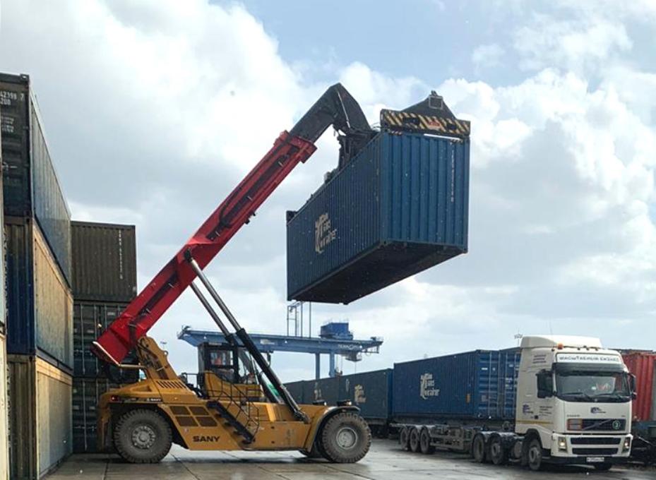«РЖД Логистика» выполнила отправку контейнера со сборным грузом из России в Китай