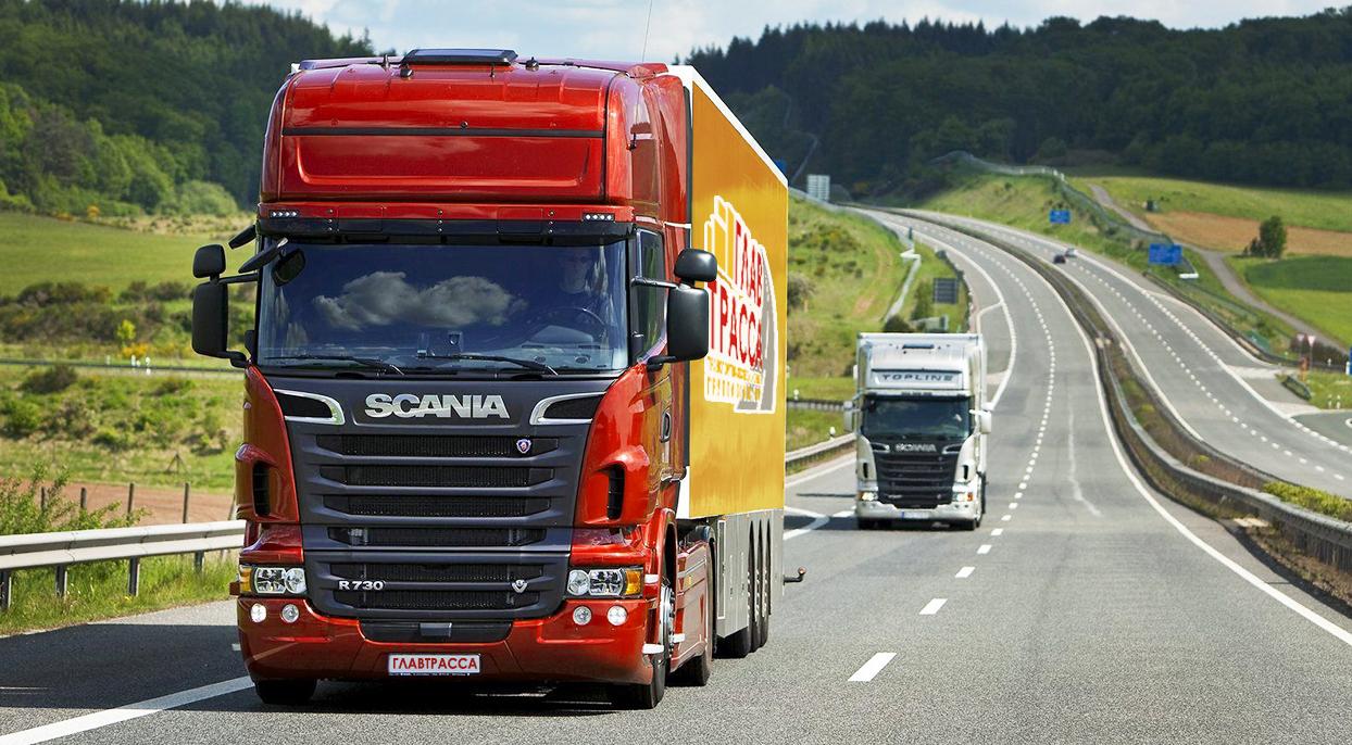 Международные грузоперевозки автотранспортом упали на 20%, внутрироссийские — на 30%
