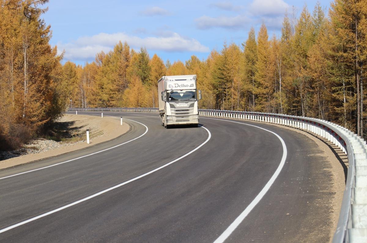 В Амурской области заасфальтировали еще 10 км трассы А-360 «Лена»