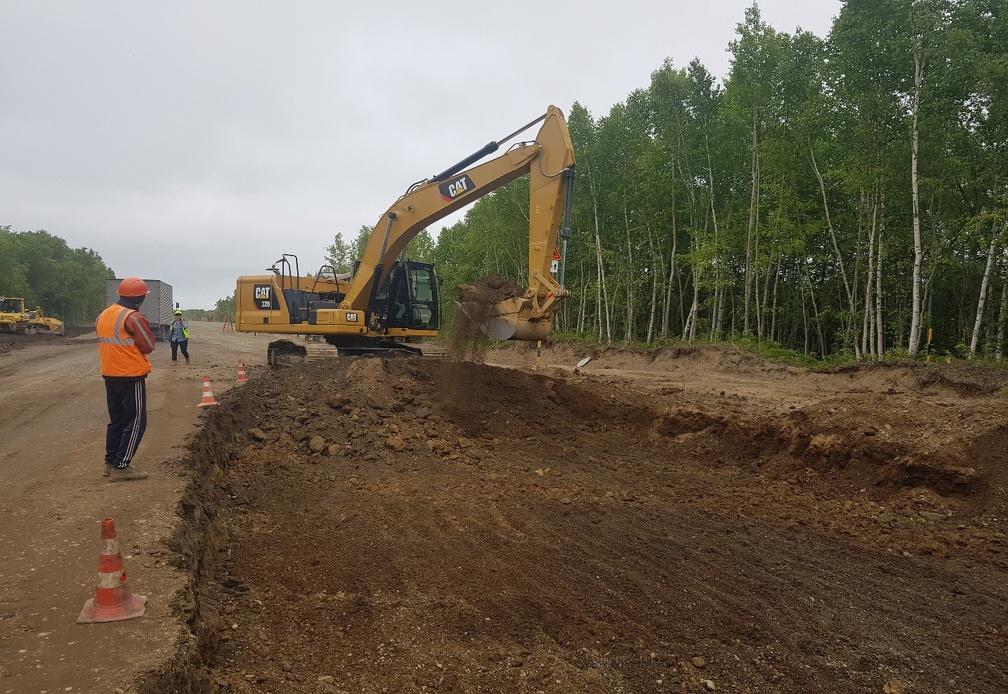 Главная автомагистраль Сахалинской области будет заасфальтирована до 2024 года