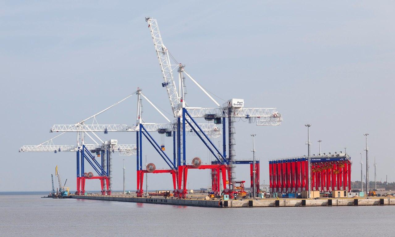 Порт «Бронка» сможет переваливать грузы до 500 тонн