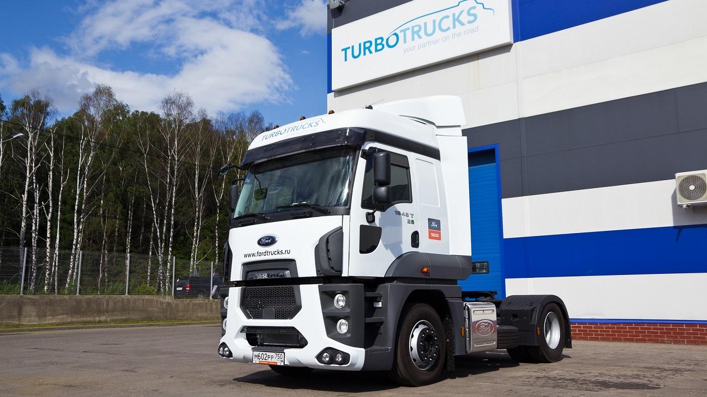 В 2019 году в России открылось два новых сервисных центра Ford Trucks