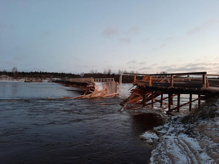 В Архангельской области отремонтируют 70 аварийных мостов