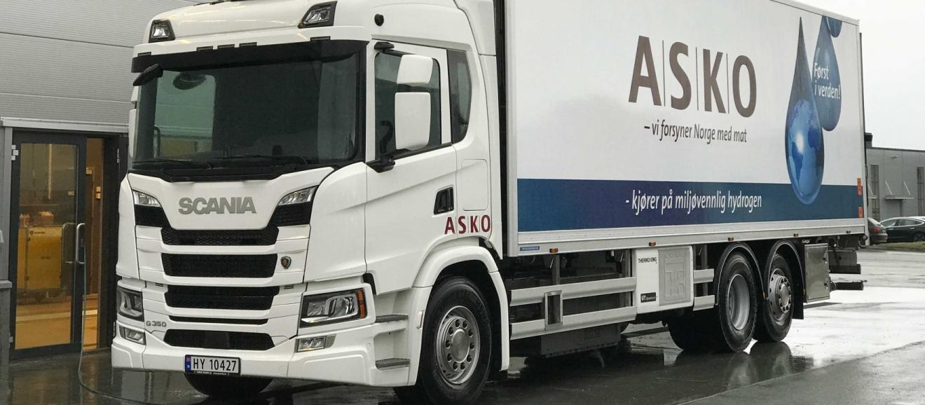 В Норвегии протестируют грузовики на водородном топливе