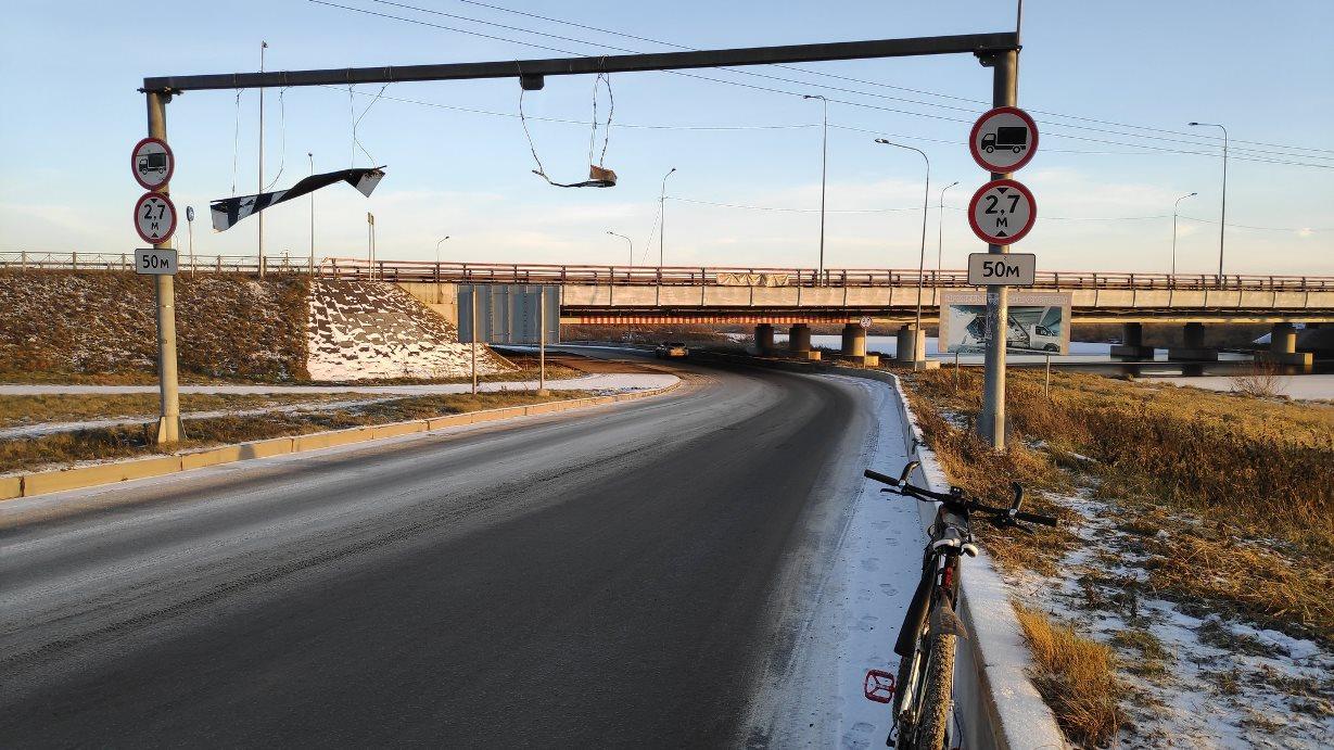 «Мост глупости» в Санкт-Петербурге отметил начало года юбилеем