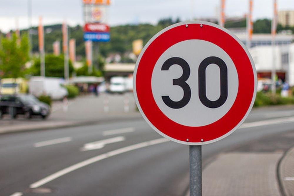 ГИБДД поддерживает снижение скорости до 30 км/ч в городах
