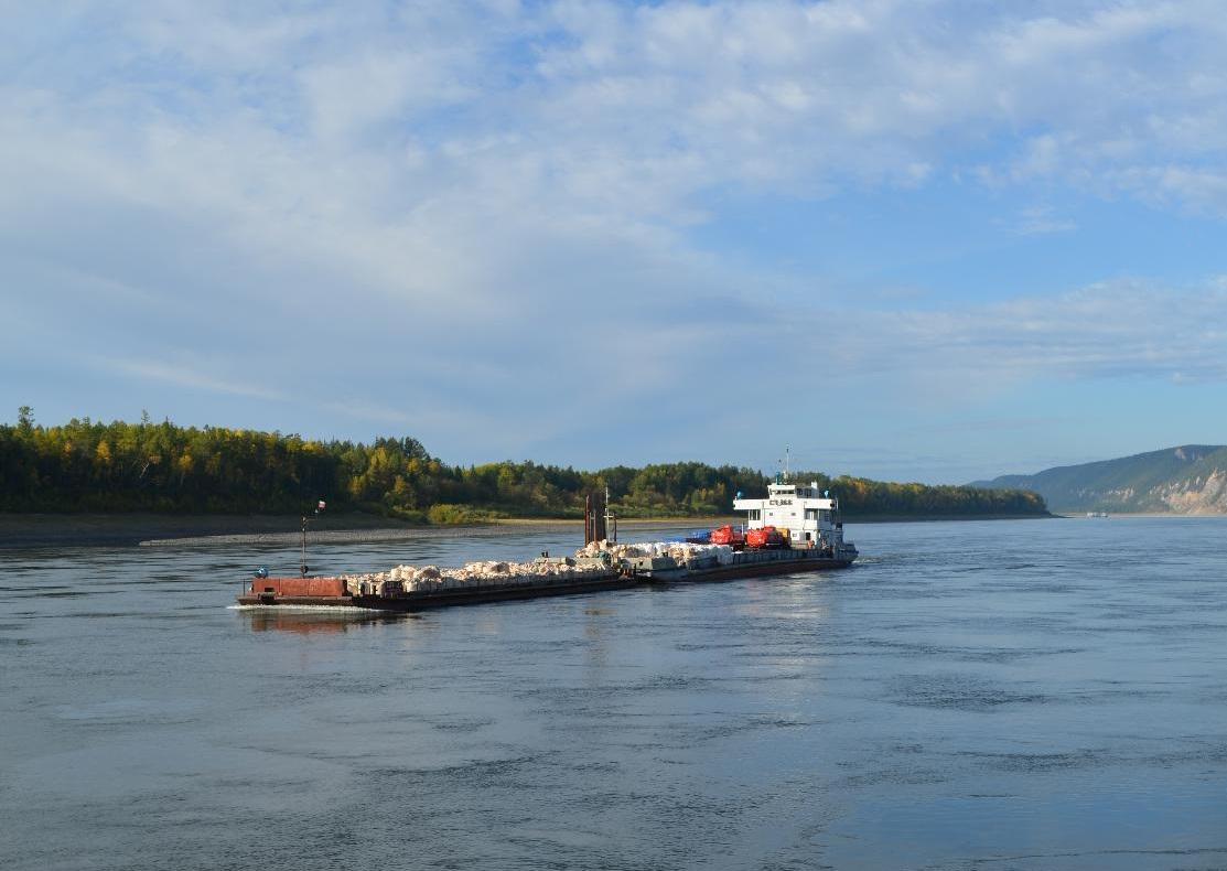 Обмеление рек в Якутии не повлияло на северный завоз, он выполнен на 95%