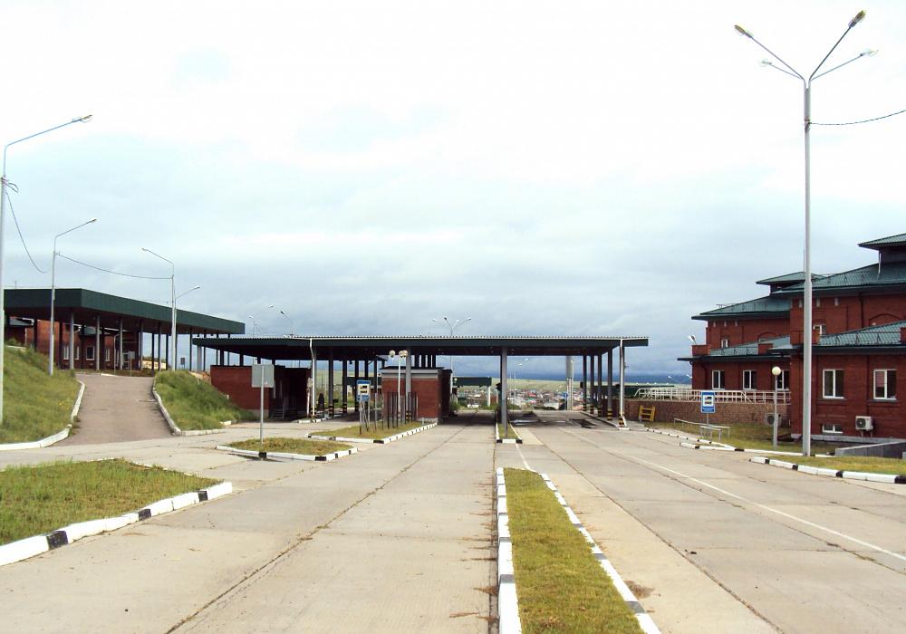 В Бурятии завершили реконструкцию пункта пропуска «Кяхта»