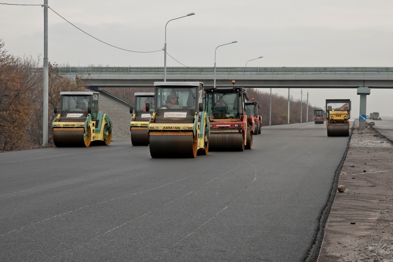 В Геленджике реконструируют трассу М-4 «Дон»