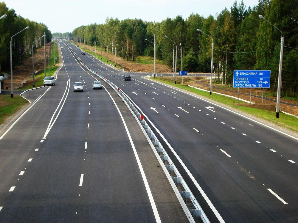 На трассе М-7 «Волга» на подъездах к Владимиру установят линии освещения