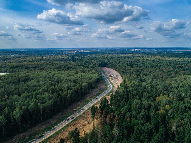 За 5 лет в Московской области построят 60 км федеральных трасс