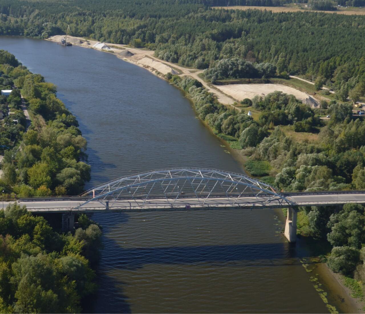 Мост через Москву-реку в подмосковном Воскресенске начнут ремонтировать в 2019 году