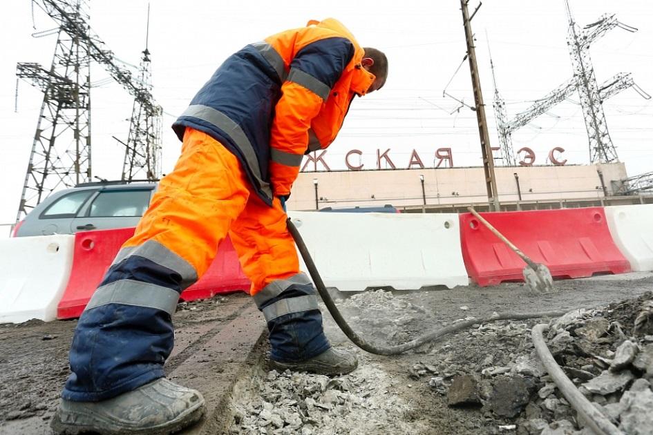Мостовой комплекс Волжской ГЭС открыт для движения