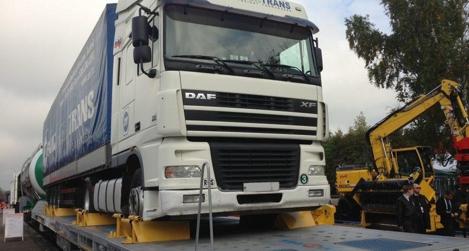 ФГК и УВЗ разработали новую универсальную вагон-платформу для контрейлерных перевозок