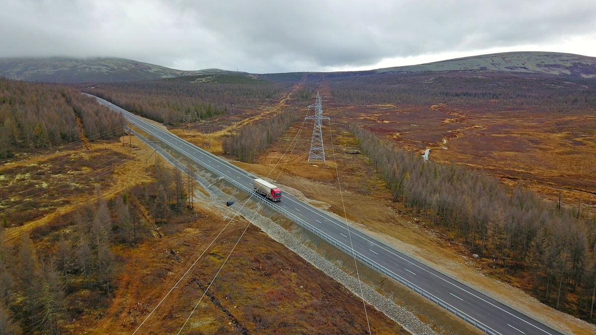 В Якутии заасфальтировали еще 11 км трассы «Лена»