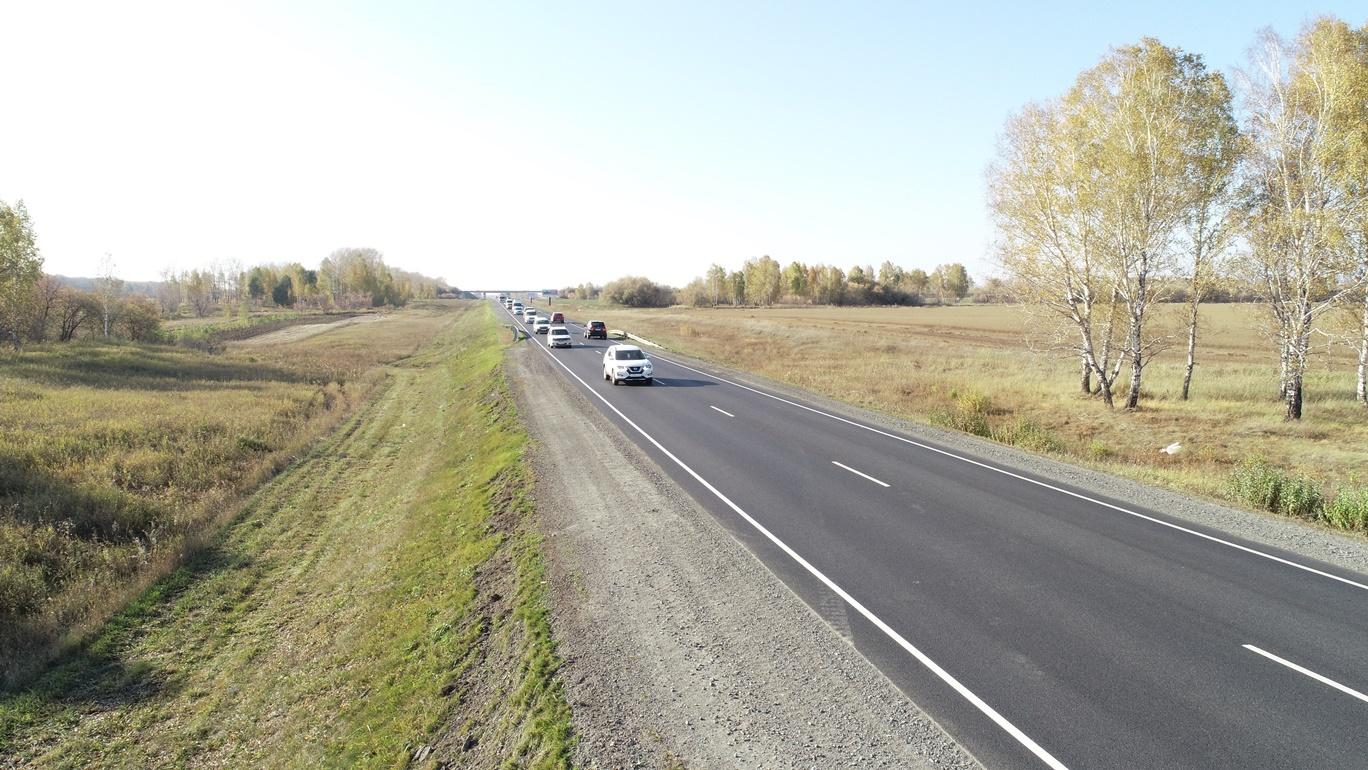 В Алтайском крае отремонтировали 50 км федеральных трасс