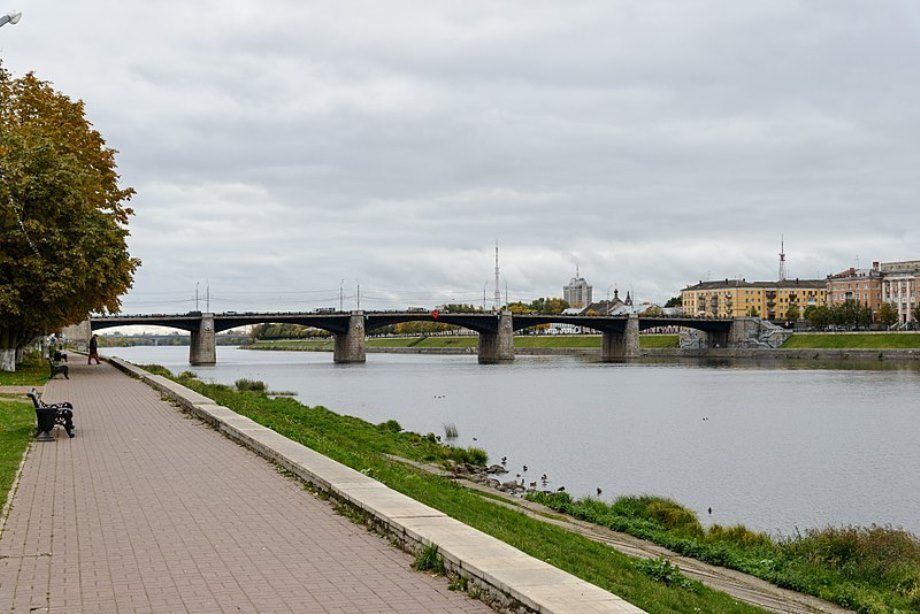 Мост через реку Волга